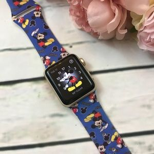 Mickey Mouse Silicone Apple Watch Band